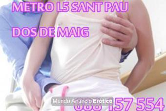 Fotos de NUEVAS CASA MASAJES TODOS 24H EN METRO L5 SANT PAU DOS DE MAIG 688157554