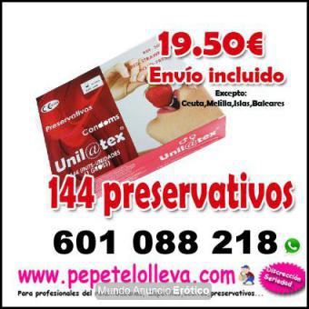 Fotos de 144 unid preservativo natural 19,50 envío incluido y  discreto       144 preserv